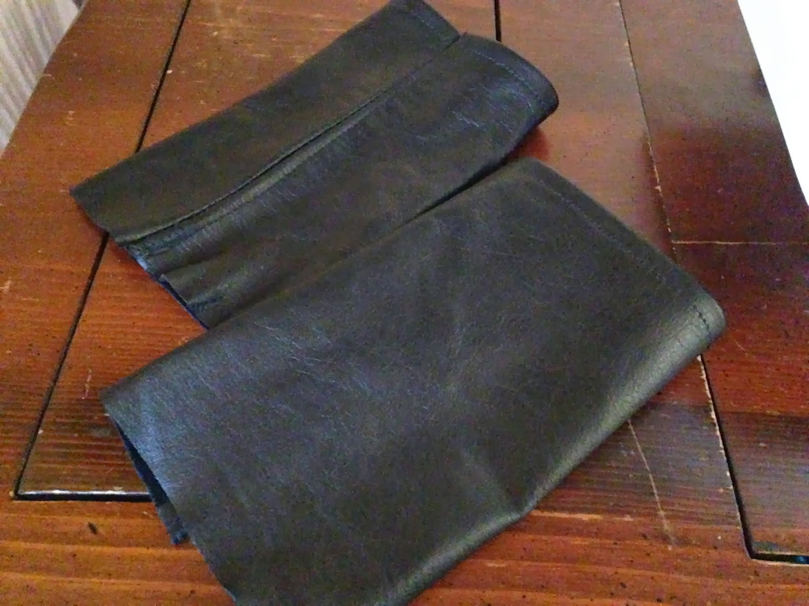 Ulterior Alterations: Sweater with Removable Leather Details DIY