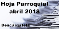Hoja Parroquial abril 2018
