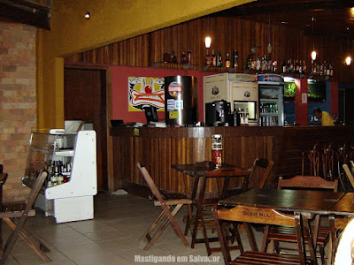 Boteco do Zé: Ambiente interno