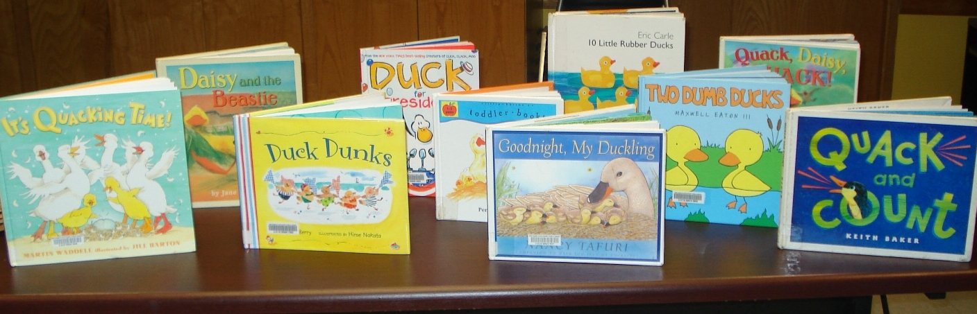 Abby the librarian duck into a good storytime each person presenting storytime customizes it to her own preferences and what will best suit her group fandeluxe Image collections