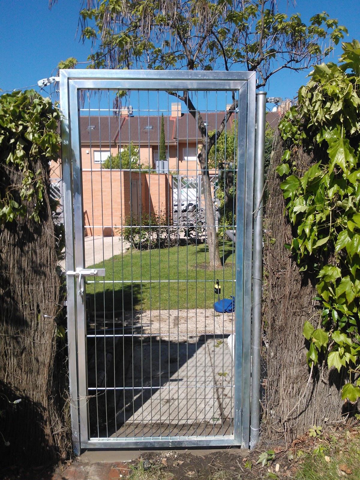 Vallas met licas puerta de paso - Puertas para vallas ...