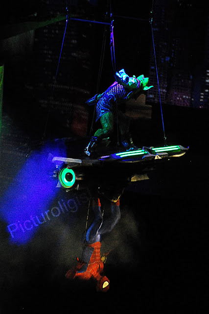 Green Goblin and Spider-man | Marvels Universe Live | Photo by Picturologist