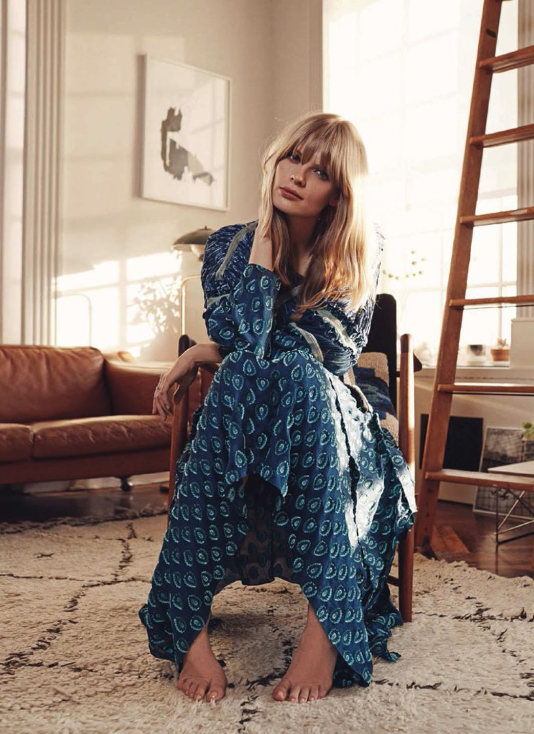 Julia Stegner in Everyday makes me smile editorial | Vogue Germany May 2014 | photography: Benny Horne
