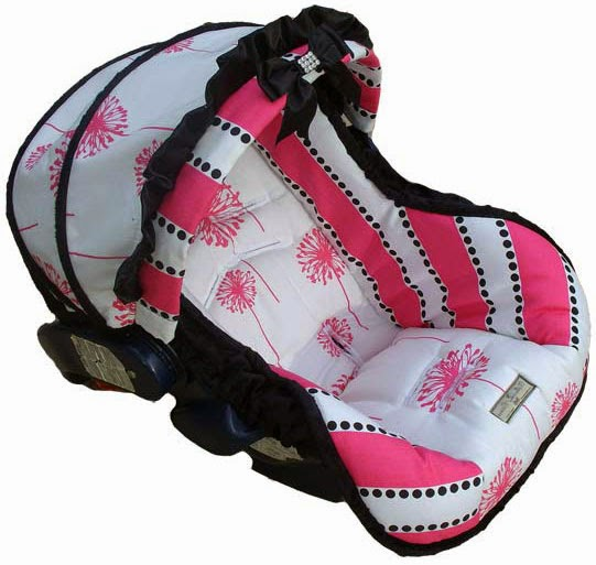 baby girl car seat covers image