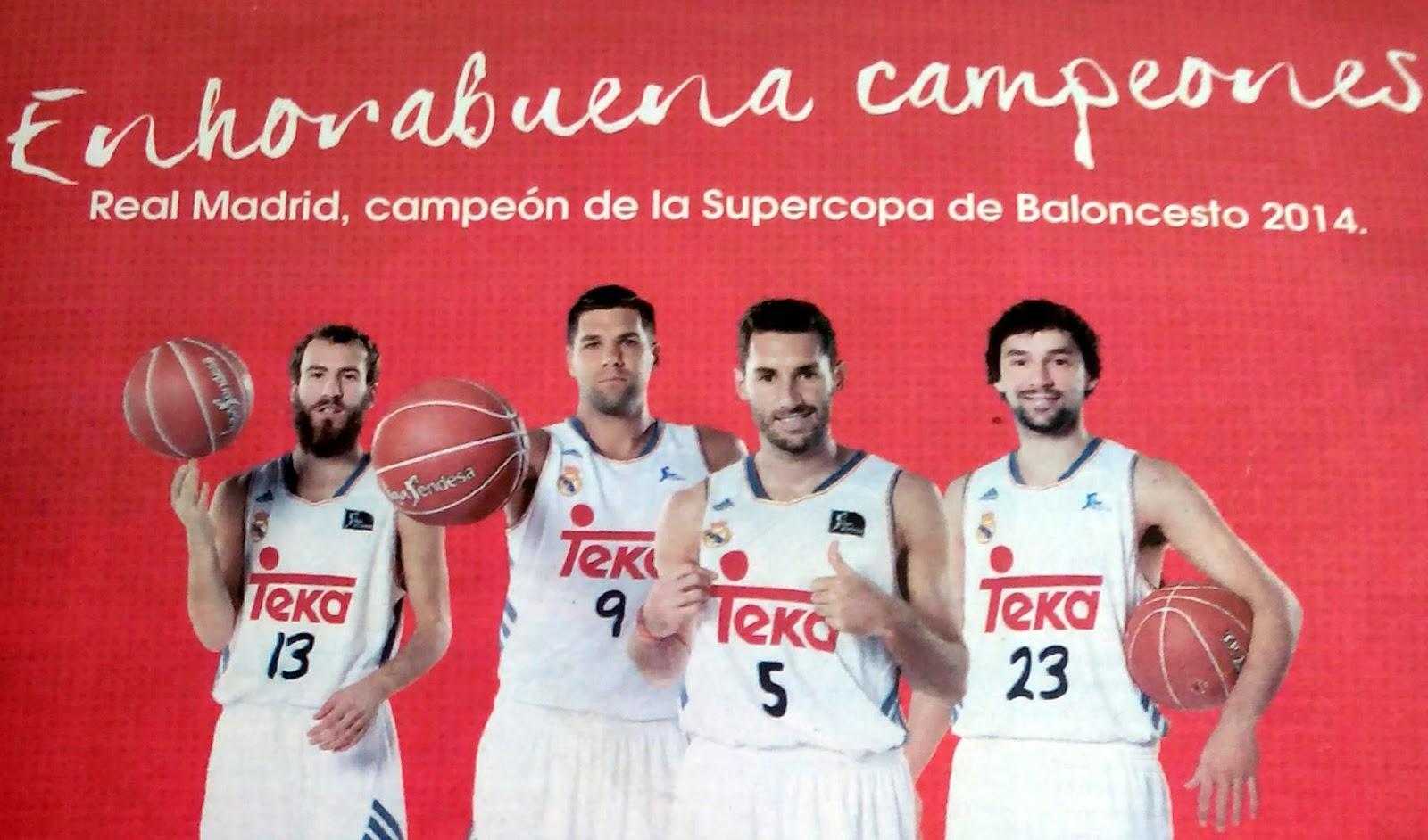 Teka rentabiliza su patrocinio con el Real Madrid