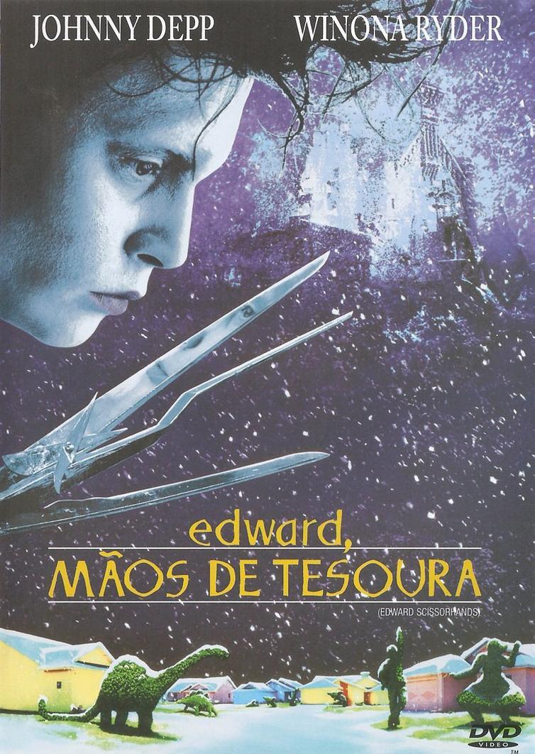 Filme Poster Edward Mãos de Tesoura DVDRip XviD & RMVB Dublado
