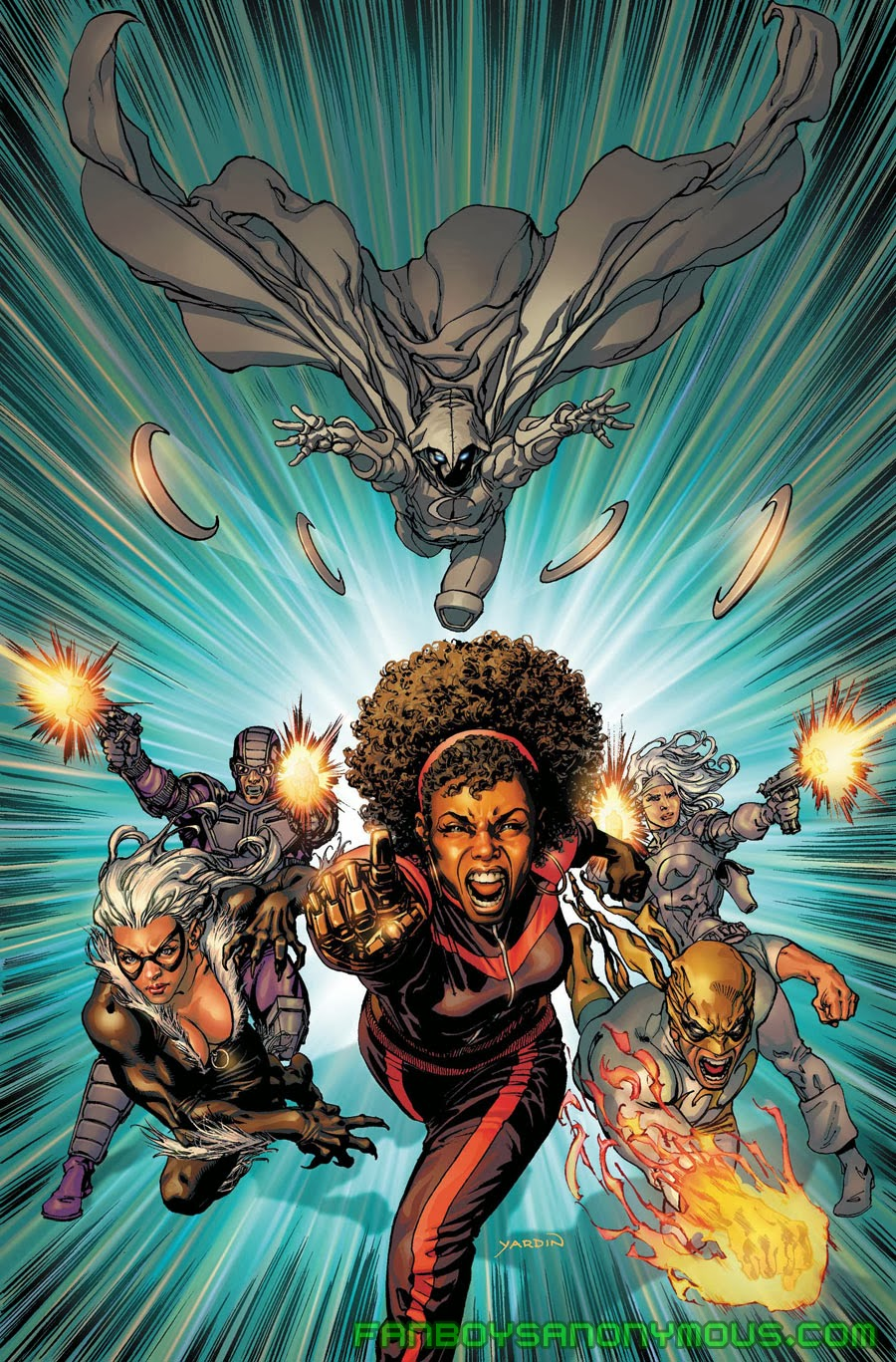 Follow Misty Knight's recent adventures in Fearless Defenders by Cullen Bunn