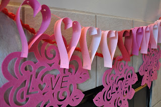 Valentines Day decorations, crafts