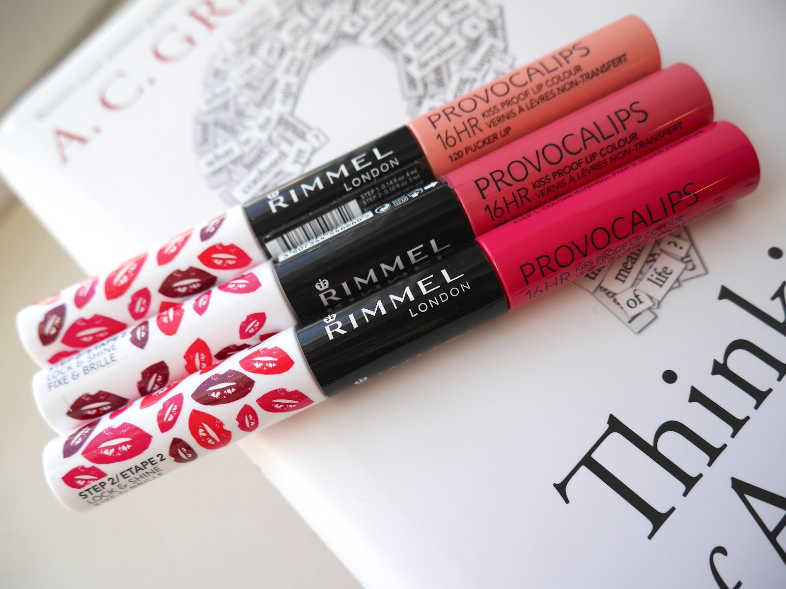 rimmel provocalips i'lll call you swatch review