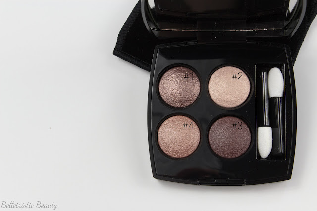 Chanel Tissé Rivoli 226 Les 4 Ombres Multi-Effect Quad, Summer 2014, Collection in studio lighting