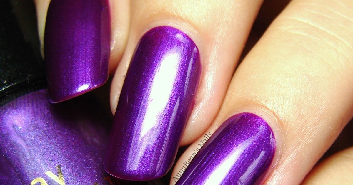 V Is For Violet AnnaBean's Nails: A To...