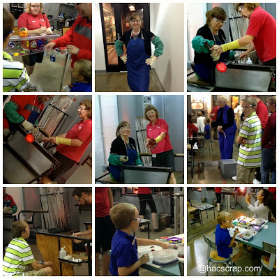 Family Travel - Glass Blowing Experience at Corning Museum of Glass