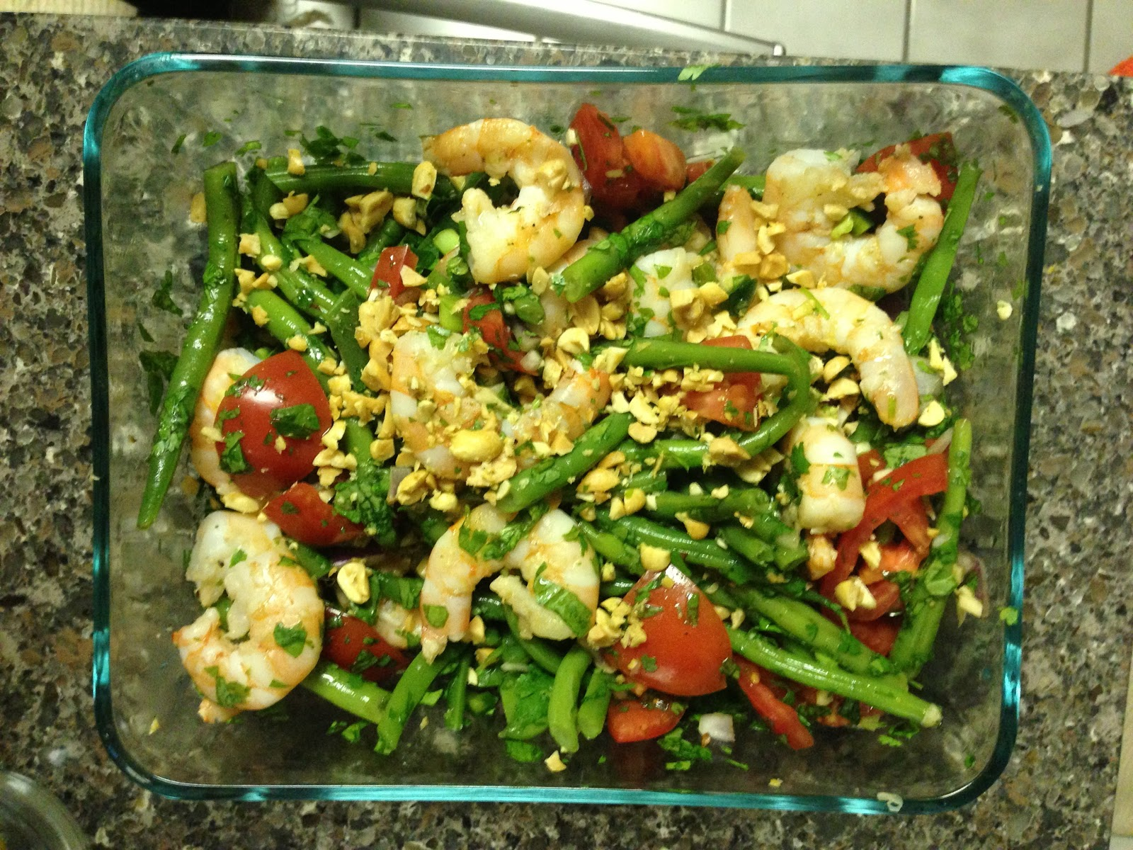 Citrus & Spice: Thai Green Bean Salad with Shrimp