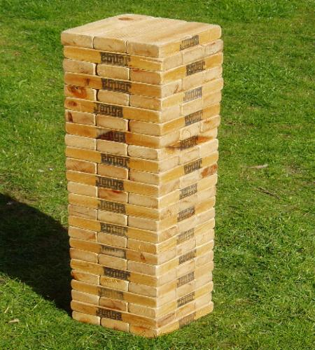 Walk the Year: Day 136- The Whole-Body Jenga Game
