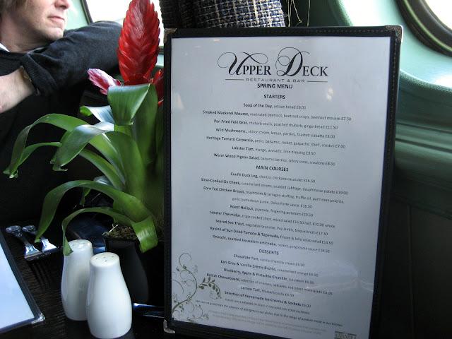 hispaniola thames restaurant menu