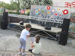 Children at the 10th Annual Anti-Racist Festival, Chania, Crete, June 2015