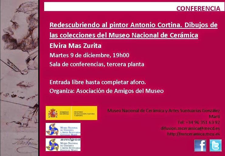 CONFERENCIA EN EL MUSEO DE CERÁMICA