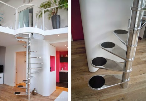 Space saving stairs designs for small homes stairs designs - Stairs small spaces gallery ...