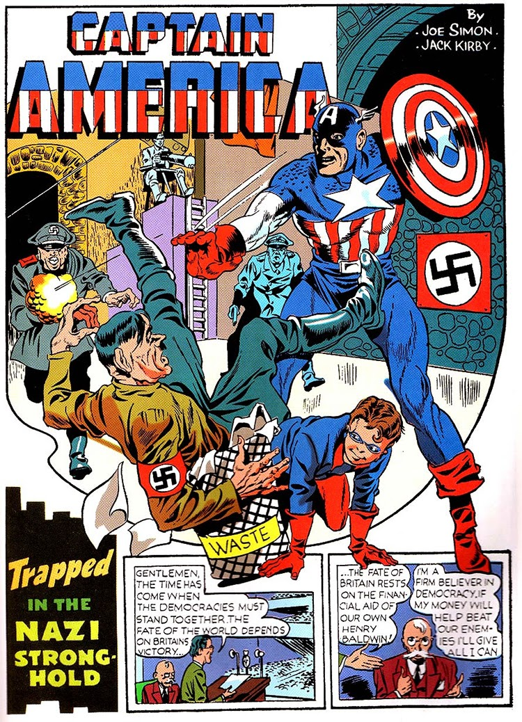 Captain America Comics 1 March 1941 in Captain America 2
