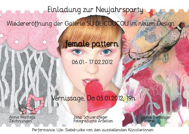 """female pattern"" 05.01.12 Vernissage"