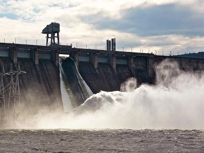 Usina hidrelétrica Krasnoyarsk - Rússia
