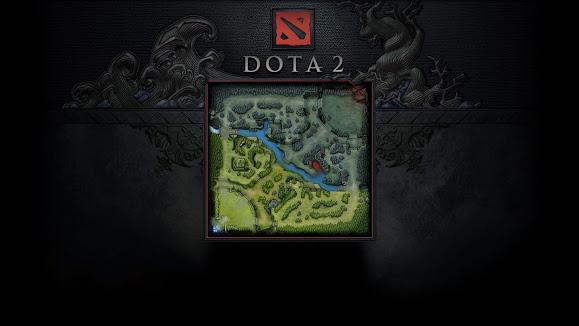dota 2 full mini map radiant dire game hd wallpaper