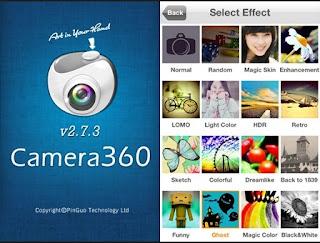 Aplikasi Fotografi 2 - Camera360