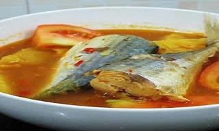 Ikan Kembung Kuah Asam Khas Kalimantan Selatan
