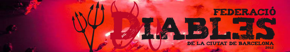 Federació de Diables de la Ciutat de Barcelona 2012
