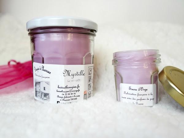 Les Bougies de Charroux, délice olfactif