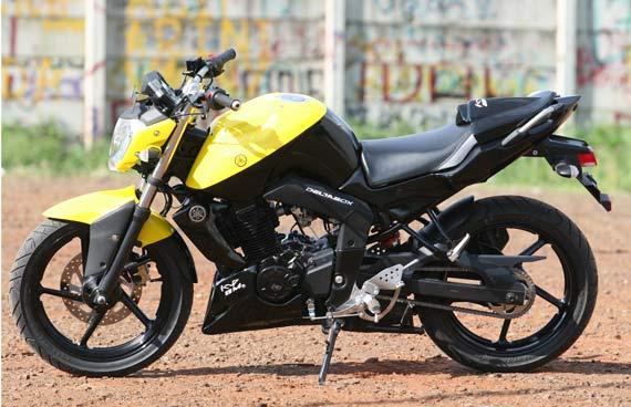 kumpulan modifikasi byson kuning hitam