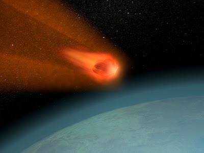 ¿Porque no temer a que te caiga un meteorito?