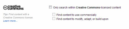 Creative commons image Search