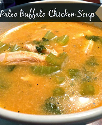 paleo buffalo chicken soup recipe