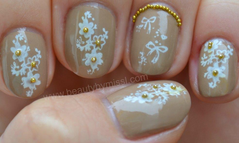nail art stamping, microbeads