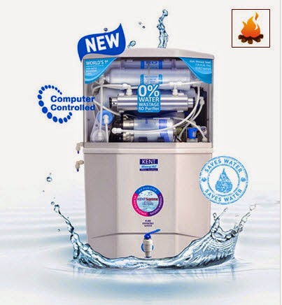 Pepperfry: Buy Kent Supreme Home Ro System Water Purifier and Free Reebok T-Shirt at Rs.14285