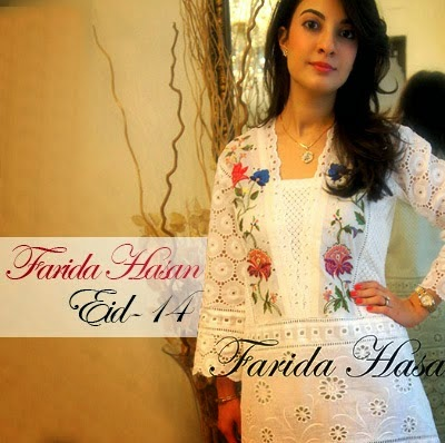 Farida Hasan Eid Dress Collection
