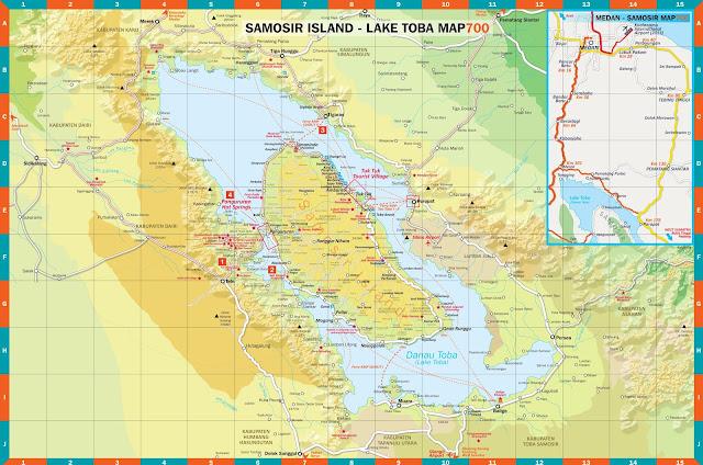 Download Peta pariwisata Samosir