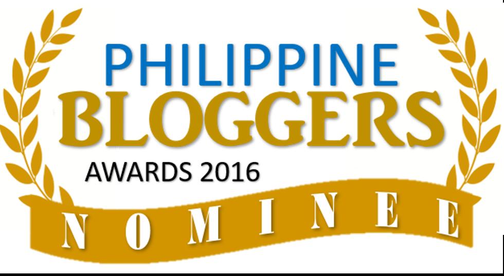 Philippine Bloggers Awards 2016