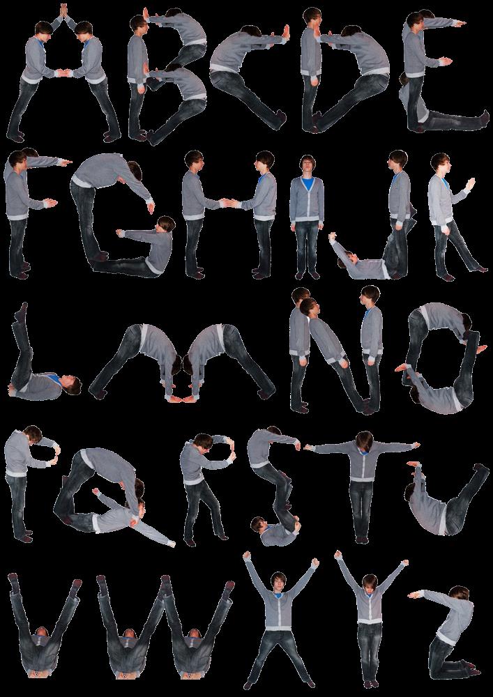 DanTadman Personal Bodies Alphabet