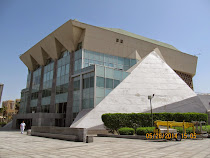 The modern version of the famous Library at Alexandria, a center of Egyptian learning and culture