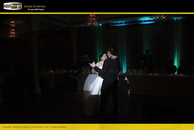 Rosewarter Room Toronto, Wedding First Dance with Spot Light, Toronto DJ Services