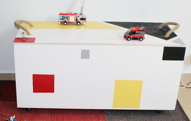 skrzynia na zabawki krok po kroku,skrzynia ze sklejki,projekt bosch i blogerzy wnętrzarscy