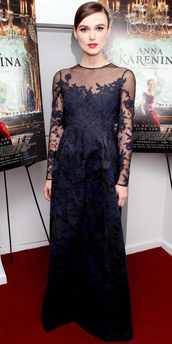 Keira Knightley Red Carpet Dresses Never Be Afraid I Cele...