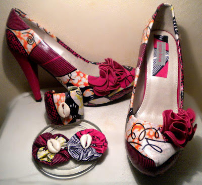 Miry By Carpe Diem ankara wax shoes - iloveankara.blogspot.com