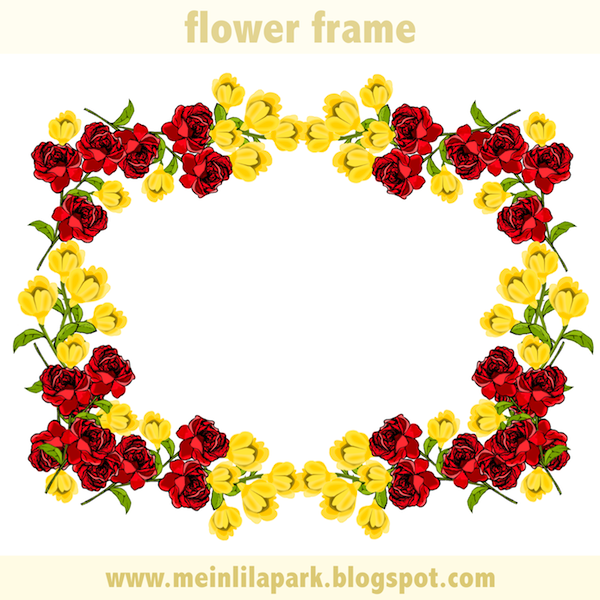 Red Frames Png Frame Png With Transparent
