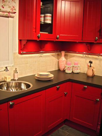 Painted Kitchen Cabinets Pictures on Kitchen Design Ideas  Tips About Painting Kitchen Cabinets