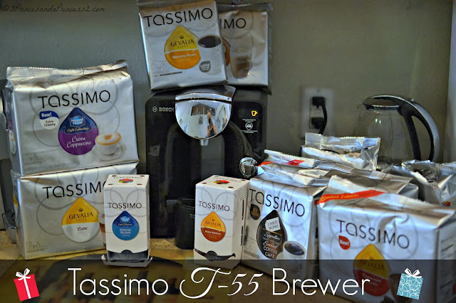 Tassimo T-55 Brewer Holiday #Giveaway