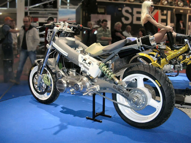 The Sachs MadAss 500cc Concept Powered by the Royal Enfield 500 Engine made in India