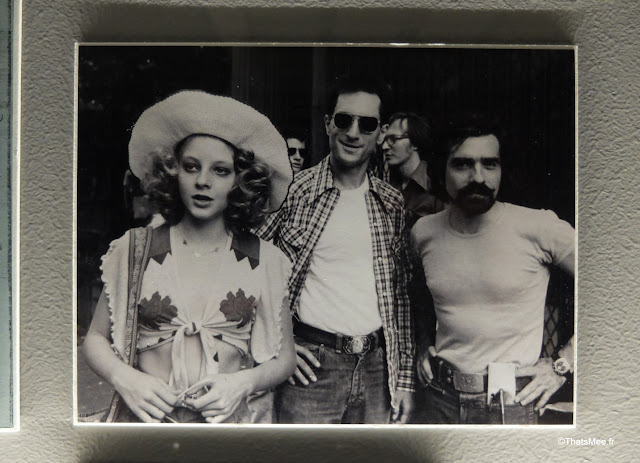 expo scorsese film cinematheque francaise paris bercy  tournage Taxi Driver jodie foster de niro